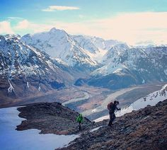 We wouldn't mind trekking along this trail in #Alaska. Thanks for sharing @alaskan_bren. by rei