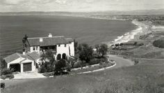c 1920's Home in Palos Verdes California overlooking South Bay.