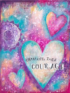 Life Book 2016 - Week 1 - Creativity Takes Courage - A Playful Warm Up with Tamara Laporte - willowing & friends