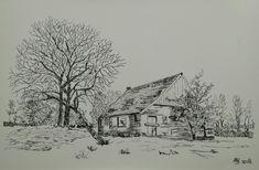 Pentekening, huisje Uneken, Bargerveen