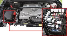 [TBQL_4184]  Cadillac SRX (2004-2009) fuses and relays | 2004 Srx Fuse Box |  | Pinterest