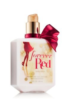 Forever Red Body Lotion - Signature Collection - Bath & Body Works