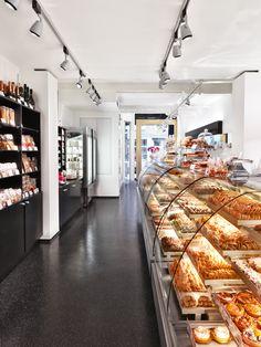 Cr ation et agencement de magasins boulangerie for Interieur utrechtsestraat
