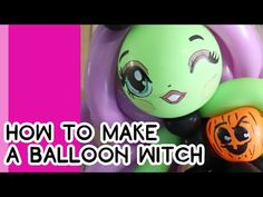 HOW TO MAKE A BALLOON WITCH (reuploaded) // A Balloon Twisting Tutorial - YouTube Halloween Balloons, Holiday Pictures, Witch, Youtube, How To Make, Vacation Pictures, Wicked, Youtubers, Holiday Photos