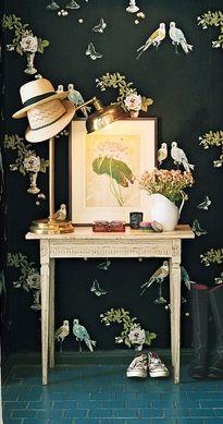 Wallpaper by Nina Campbell.