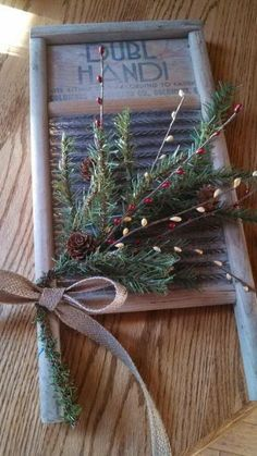 how to make primitive decor at home 7852 Christmas Past, Primitive Christmas, Rustic Christmas, Christmas Projects, Holiday Crafts, Vintage Christmas, Christmas Holidays, Primitive Decor, Holiday Decor