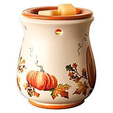 image of Harvest Garden Ceramic Wax Warmer Harvest Garden, Fall Harvest, Candle Warmer, Wax Warmer, Thanksgiving Gifts, Thanksgiving Decorations, Holiday Tablecloths, Plaid Tablecloth