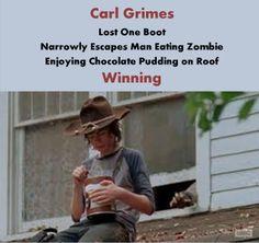 Carl Grimes - Winning