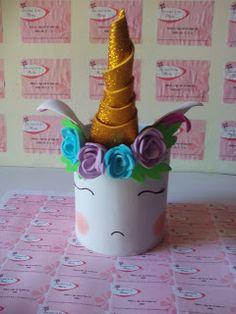Las Cosas de tía Marta: Reto amistoso número 94: unicornios o sirenas. Toothbrush Holder, Diy, Mermaids, Creativity, Unicorns, Desktop, Hipster Stuff, Bricolage, Do It Yourself