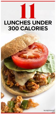 Lunch can be that awkward meal of the day where you're either unsure of what to eat or are afraid you'll eat too much. Check out these 11 easy lunches that are each under 300 calories — you won't believe how delicious they are! Womanista.com