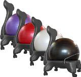 Check out the deal on Isokinetics Inc. Balance/Exercise Ball Chair - With PURPLE Ball and Pump at Physical Therapy Equipment and Supplies - Isokinetics Inc. Chair Exercises, Balance Exercises, Ab Exercises, Stretches, Muscular Strength, Ball Chair, Cool Office, Office Ideas, Ideas