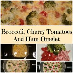 A healthy breakfast omelet that's easy to make and super delicious!