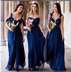 New shipping With Cap Sleeve Eggplant Bridesmaid Dresses 2015 Red Dark Navy Blue…