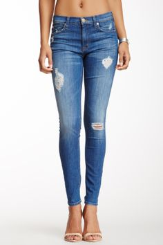 Nico Mid Rise Super Skinny Jean- jean perfection
