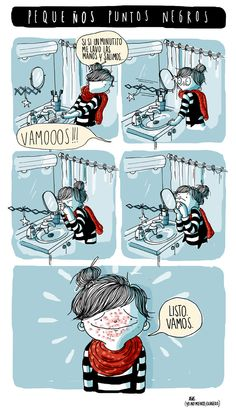 Haha (Sorry if you don't speak Spanish. Very Funny, Super Funny, Spanish Humor, Frases Humor, Funny Times, Humor Grafico, Illustrations, Comic Strips, Thoughts