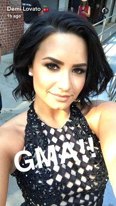 Demi On GMA 6/24/16