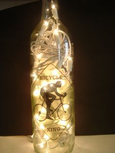 Such a lovely light - and a great reuse idea.