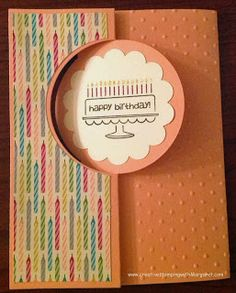 Stampin' Up! Bring on the Cake Stamp Set and Circle Thinlits Card