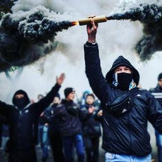 No Pyro, No Party. Soccer Ultras.