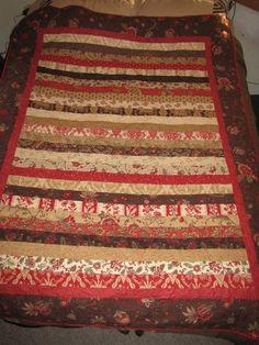 My first quilt... for Zackary & Jolin