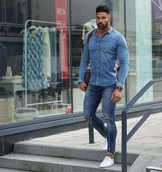 "4,304 Likes, 69 Comments - Andreas Linder (@andreaslinder83) on Instagram: ""Double denim"""