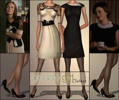 Blair's dresses from GG! photo by b-bettina
