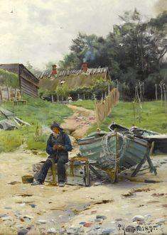 Mending the Nets, 1891