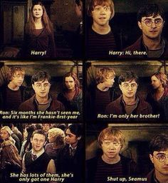 Harry and Ginny<3