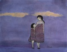 Hey, I found this really awesome Etsy listing at https://www.etsy.com/listing/60926743/mother-daughter-art-girls-nursery-girls
