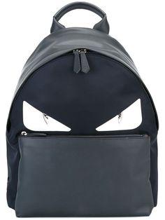 Fendi Logo Printed Bag Bugs Backpack In Black Fendi Bag Bugs, Fendi Bags, Fendi Backpack, Backpack Purse, Men's Backpacks, Designer Backpacks, Printed Bags, Fashion Handbags, Shopping