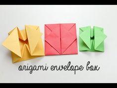 Origami Envelope Box Instructions - Paper Kawaii