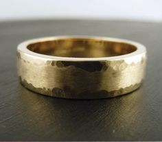 14k Yellow Gold Wedding Bands