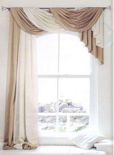 Ideas shabby chic curtains living room window treatments for 2019 Curtains Living, Living Room Windows, My Living Room, Living Room Decor, Bedroom Decor, Elegant Curtains, Shabby Chic Curtains, Beautiful Curtains, Curtain Styles