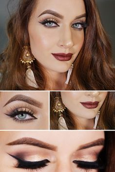 Chystáš sa na ples alebo párty a premýšľaš aké zvolíš líčenie? Vyskúšaj sa nalíčiť podľa môjho podrobného video návodu... via @akademiakrasy Make Up, Lipstick, Beauty, Beautiful, Dresses, Living Room, Vestidos, Lipsticks, Makeup