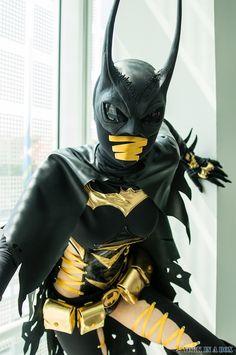 A Stunning Cassandra Cain Batgirl Cosplay