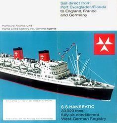 Vera Cruz, Seas, Vintage Posters, Illustrations Posters, Sailing, Cruise, Germany, Florida, France