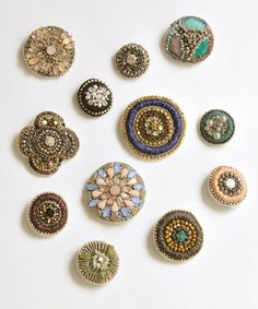 Jewelry...Felted/Fiber/Buttons/Paper