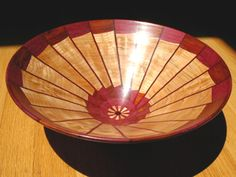 wood turned vases | turned wooden bowls