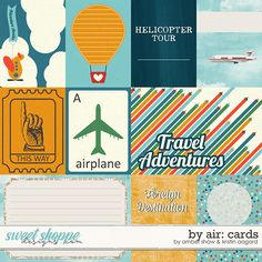 By Air: Cards by Amber Shaw
