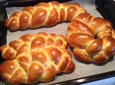 Greek Sweets, Greek Desserts, Greek Recipes, Greek Cookies, Greek Dishes, Sweets Cake, How To Make Bread, Bread Making, Dinner Rolls