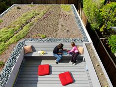 I think more roofs should be converted into living spaces, gardens, a backyard of sorts..