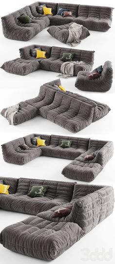 canap togo cuir michel ducaroy ligne roset boutique vintage ideas pinterest sacks. Black Bedroom Furniture Sets. Home Design Ideas