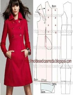 Fashion molds for Measure Sewing Dress, Dress Sewing Patterns, Sewing Clothes, Clothing Patterns, Fashion Sewing, Diy Fashion, Costura Fashion, Diy Kleidung, Diy Vetement