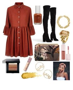 """Untitled #51"" by mikaelabeck on Polyvore featuring Mela Loves London, Nine West, BP., BERRICLE, Bobbi Brown Cosmetics, Essie and Puma"