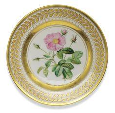 A Porcelain Plate, Yusupov Factory, Arkhangelskoe, 1827   Lot   Sotheby's
