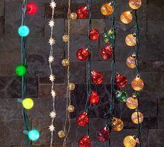 Jewel Tone Mercury Glass Globe String Lights | Pottery Barn