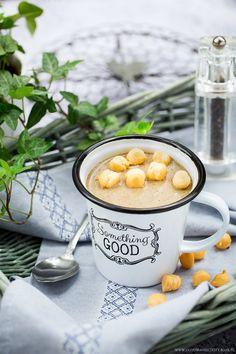 Zupa krem z grzybów leśnych.