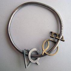 Clara Vichi - oxidized silver, brass
