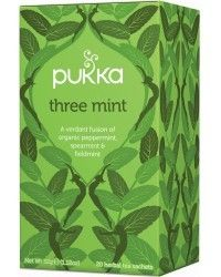 Pukka Herbs Three Mint tea is the refreshing hero of the palate. Finely-chopped spearmint, fieldmint and peppermint make this a cool. Backpacking Gear, Camping And Hiking, Pukka Tea, Pukka Herbs, Hiking Wear, Health Food Shops, Mint Tea, Spa Gifts, Hiking Backpack