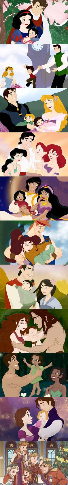 Funny pictures about Every Disney Couple Lives Happily Ever After. Oh, and cool pics about Every Disney Couple Lives Happily Ever After. Also, Every Disney Couple Lives Happily Ever After photos. Disney Pixar, Walt Disney, Disney Magic, Disney Couples, Cute Disney, Disney And Dreamworks, Disney Art, Disney Characters, Disney Princesses